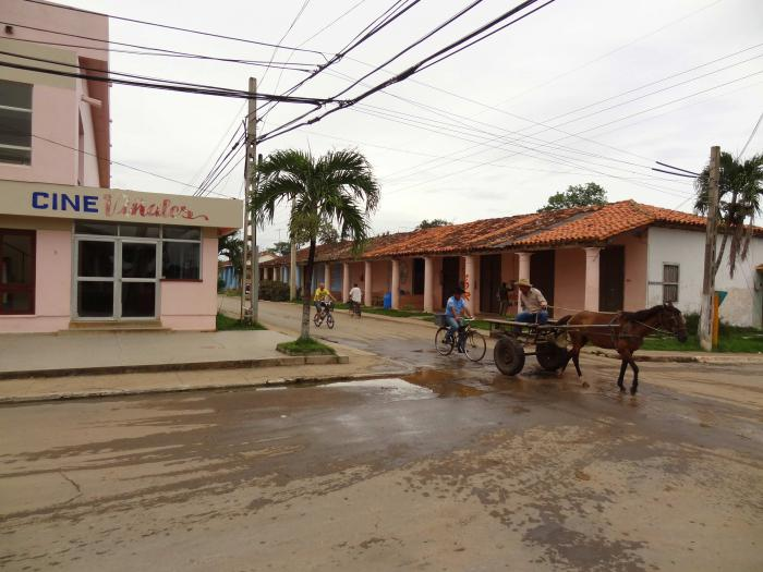 The small village of Viñales is fast growing, due to its attraction for international tourists. Pinar del Rio, Cuba.