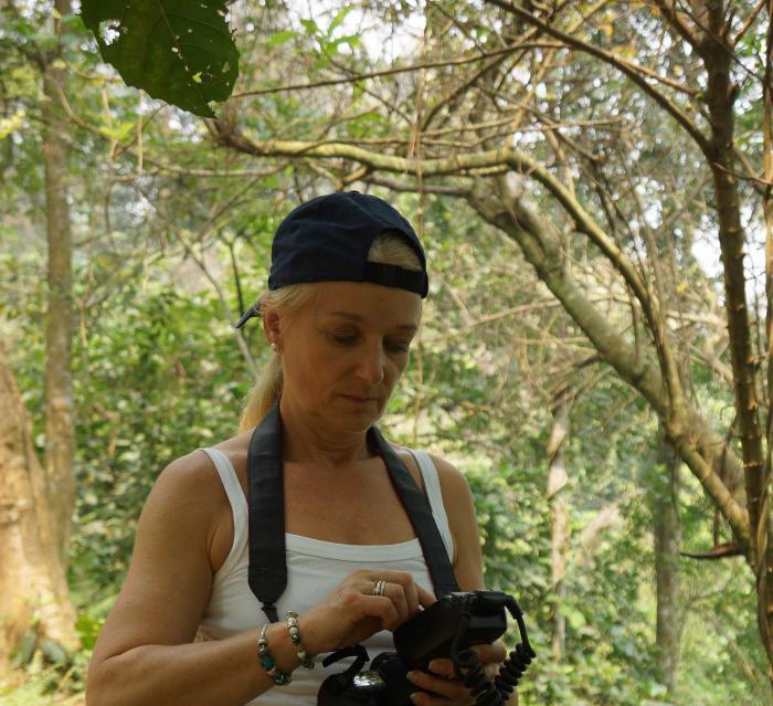 Evelyne Kozlowski (Botanic Garden of VNUF)