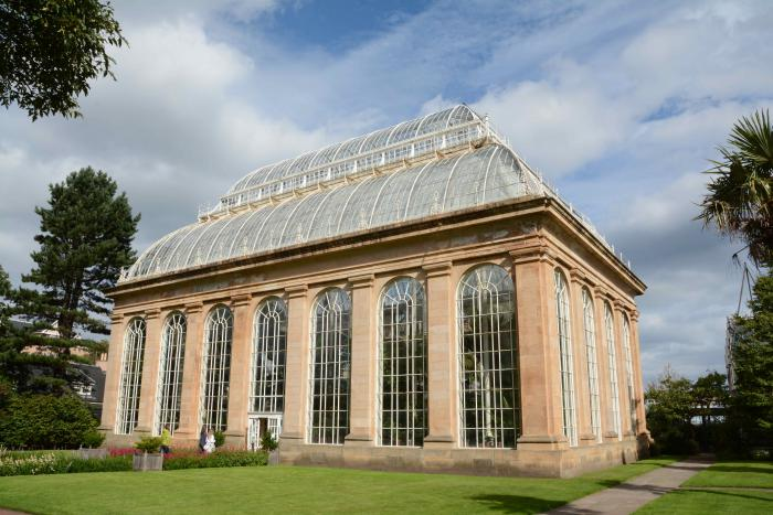 The Tropical Palm House was built in 1834 and is the oldest of the Royal Botanic Garden Edinburgh