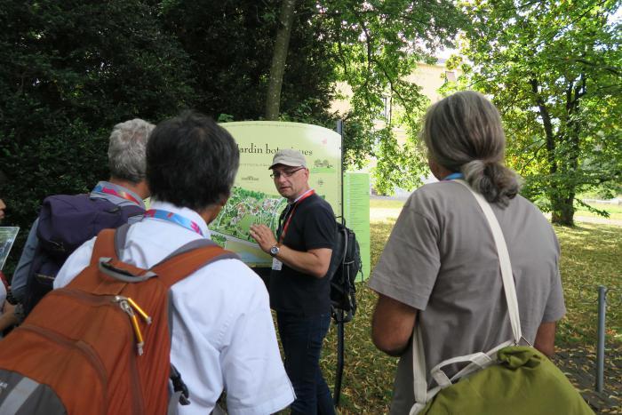 Visiting the Botanical Garden in Geneva