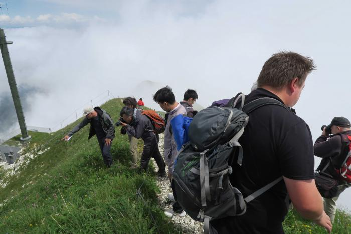 Moléson summit (2,000 m a.s.l.)