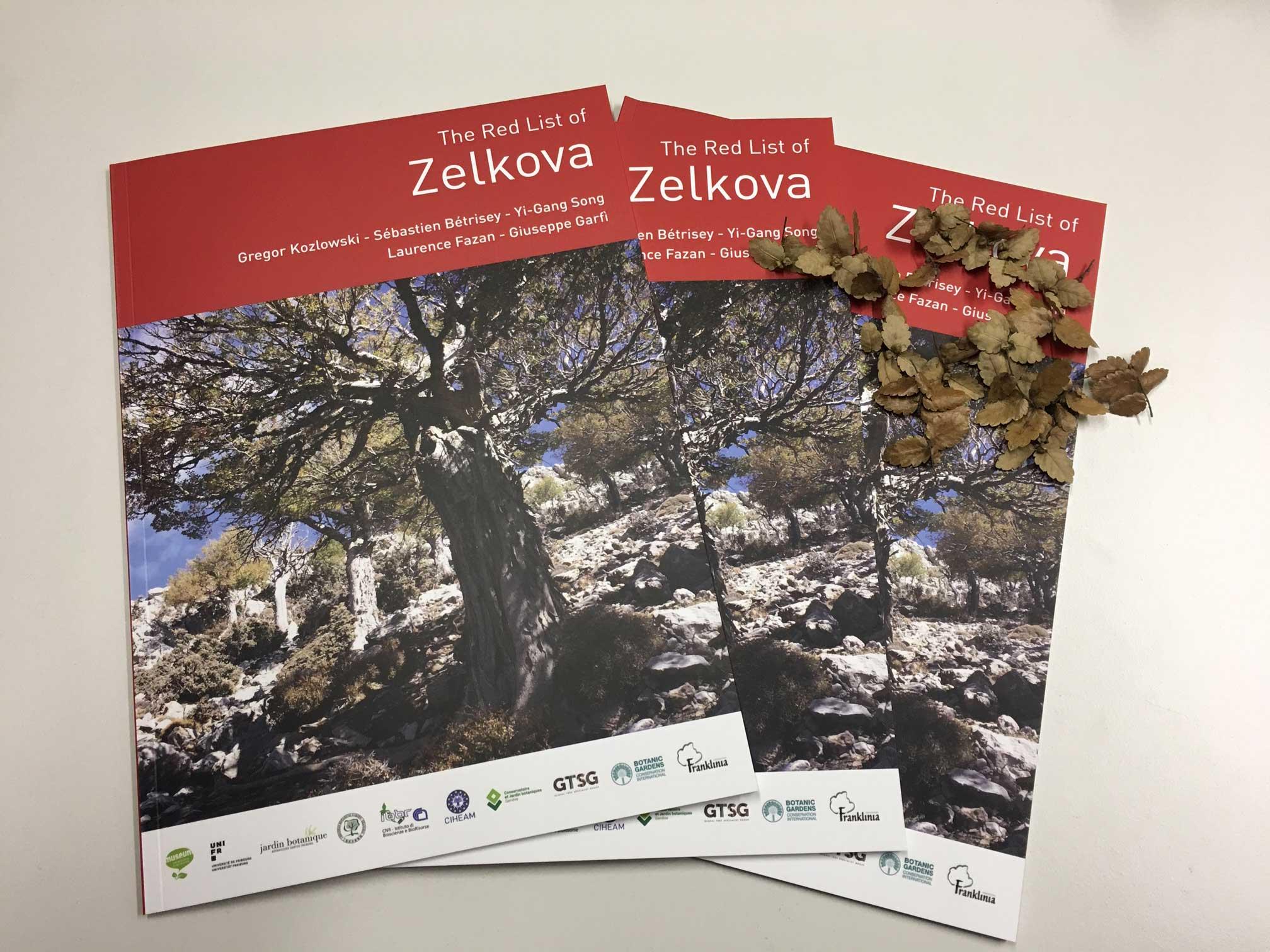 The Red List of Zelkova 2019